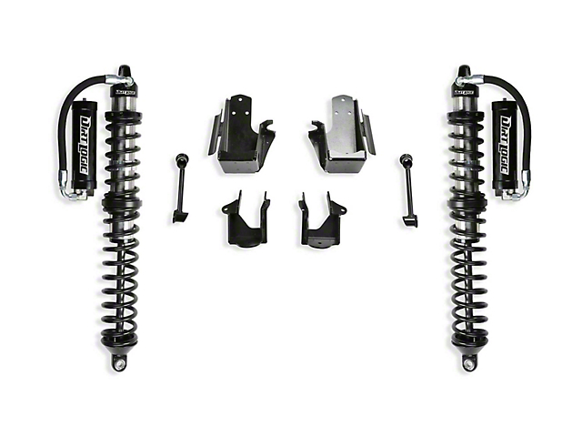 Fabtech Front Dirt Logic 2.5 Reservoir Coil-Over Conversion Kit for 5-Inch Lift (20-21 Jeep Gladiator JT)