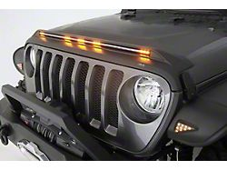 Aeroskin LightShield Hood Protector; Black (20-22 Jeep Gladiator JT)