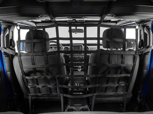 RedRock 4x4 Cargo Net/Pet Divider; Front Seat (20-22 Jeep Gladiator JT)