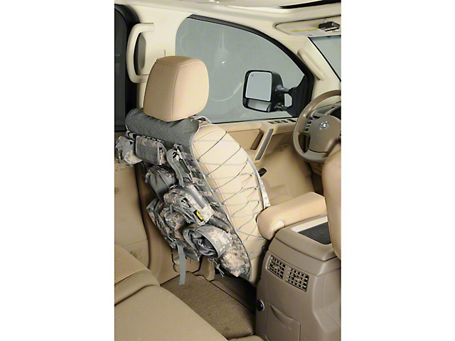 Smittybilt Seat Cover; Gear Universal Truck Seat Cover; OD Green