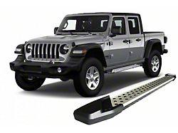 Vortex Running Boards; Aluminum (20-22 Jeep Gladiator JT)