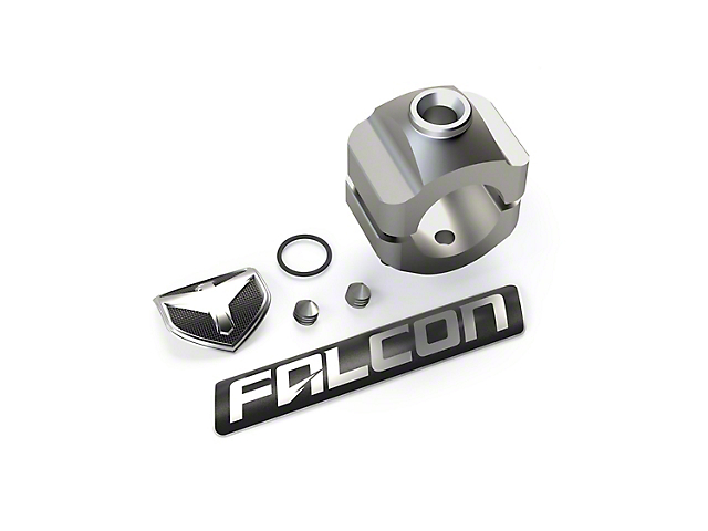 Teraflex Falcon 1.50-Inch Steering Stabilizer Tie Rod Clamp Kit
