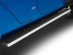 6-Inch iStep Running Boards; Hairline Silver (20-22 Jeep Gladiator JT)