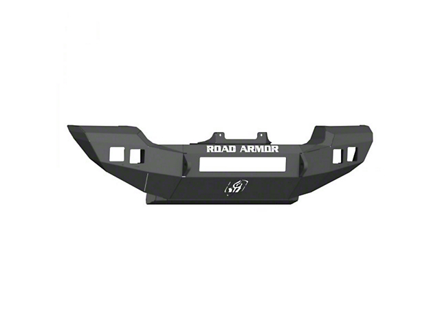 Road Armor Stealth Full Width Winch Front Bumper; Textured Black (18-21 Jeep Wrangler JL, Excluding Rubicon)