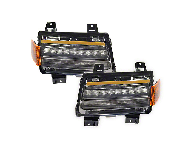 Quake LED Tempest Fender Lights with Sequential Turn Signal and Side Marker Light (20-21 Jeep Gladiator JT, Excluding Sport)