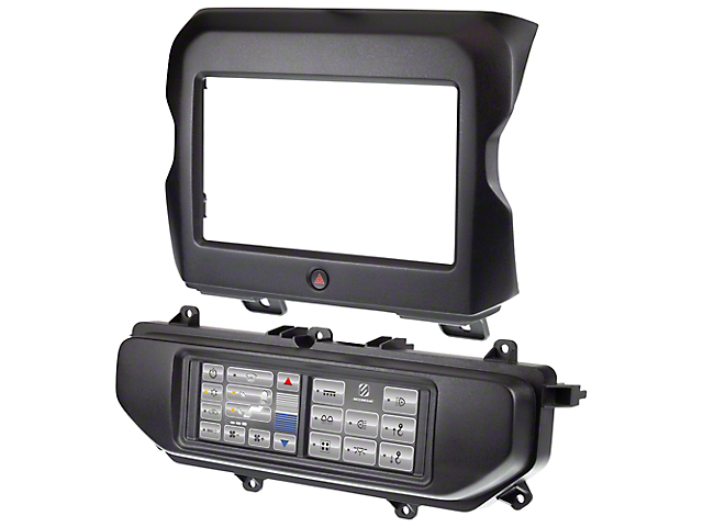 Scosche Integrated Touchscreen Dash Kit (18-21 Jeep Wrangler JL w/ 7 or 8.4-Inch Display)