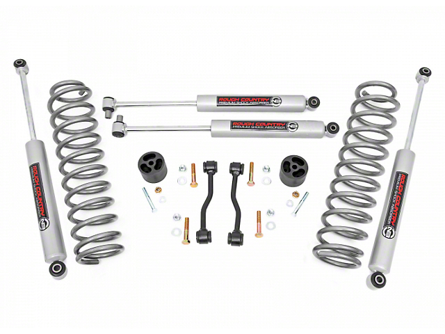 Rough Country 2.50-Inch Suspension Lift Kit with Premium N3 Shocks (20-22 Jeep Gladiator JT)