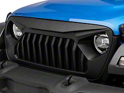 Rough Country Angry Eyes Replacement Grille; Matte Black (20-22 Jeep Gladiator JT, Excluding EcoDiesel)