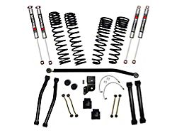 SkyJacker 4.50-Inch Dual Rate Long Travel Suspension Lift Kit with M95 Performance Shocks (21-22 3.0L EcoDiesel Jeep Gladiator JT, Excluding Rubicon)