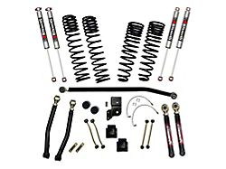 SkyJacker 6-Inch Dual Rate Long Travel Suspension Lift Kit with M95 Performance Shocks (20-22 Jeep Gladiator JT Launch Edition, Rubicon, Excluding EcoDiesel)