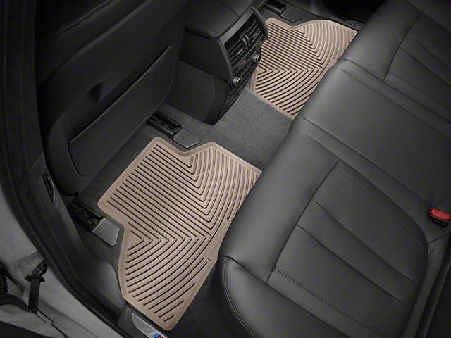 Weathertech Floor Mat Set; Tan; Rear (2020 Gladiator)