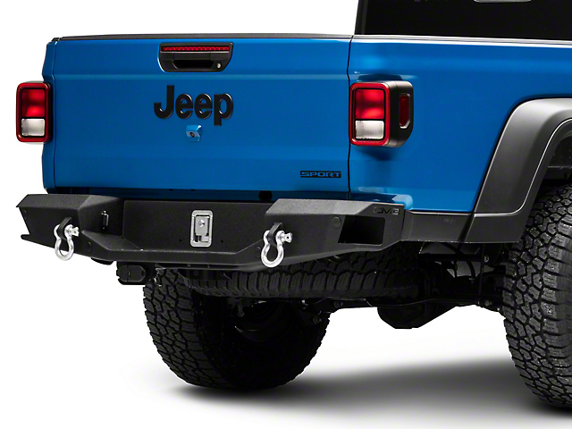 DV8 Offroad Rear Bumper with Drawer (20-21 Jeep Gladiator JT)