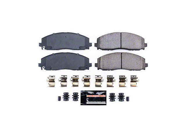 Power Stop Z23 Evolution Sport Carbon-Fiber Ceramic Brake Pads; Rear Pair (20-22 Jeep Gladiator JT)