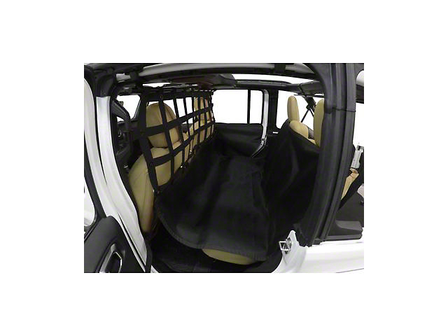 Dirty Dog 4x4 Pet Divider with Hammock and Door Protectors (20-22 Jeep Gladiator JT)