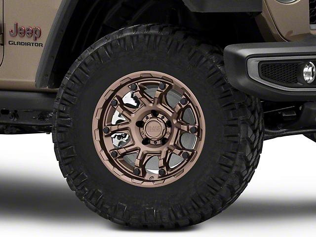 Black Rhino Ark Bronze with Gloss Black Bolts Wheel; 17x8.5 (18-21 Jeep Wrangler JL)