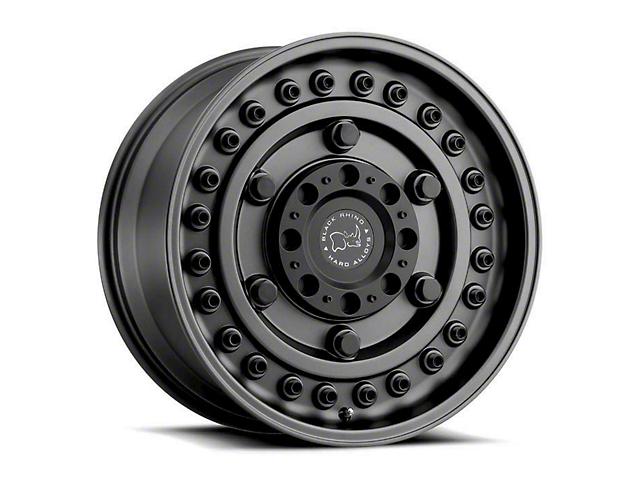 Black Rhino Armory Gunblack Wheel; 17x8 (07-18 Jeep Wrangler JK)
