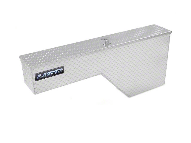 48-Inch Aluminum Fender Well Mount Tool Box; Brite (Universal; Some Adaptation May Be Required)