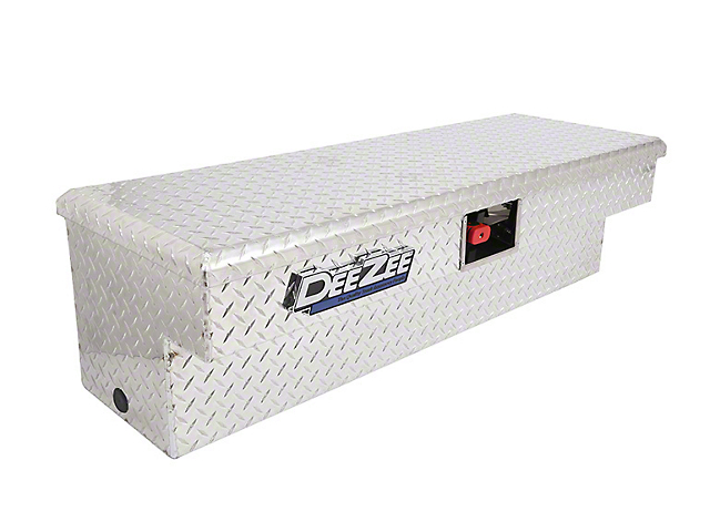 48-Inch Padlock Side Mount Tool Box; Brite-Tread (Universal; Some Adaptation May Be Required)