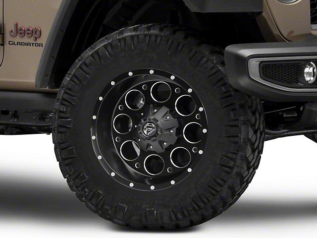 Fuel Wheels Revolver Matte Black Milled Wheel; 18x9 (20-22 Jeep Gladiator JT)