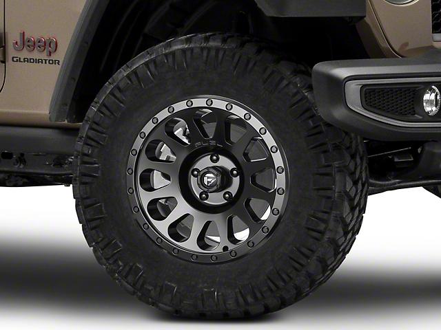 Fuel Wheels Vector Matte Black Wheel; 18x9 (20-22 Jeep Gladiator JT)