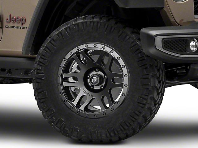 Fuel Wheels Recoil Matte Black Wheel; 18x9 (20-22 Jeep Gladiator JT)