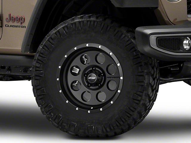 Pro Comp Wheels Proxy Satin Black Wheel; 17x9 (20-22 Jeep Gladiator JT)