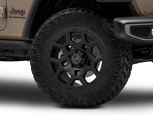 Black Rhino Overland Matte Black Wheel; 20x9.5 (20-22 Jeep Gladiator JT)