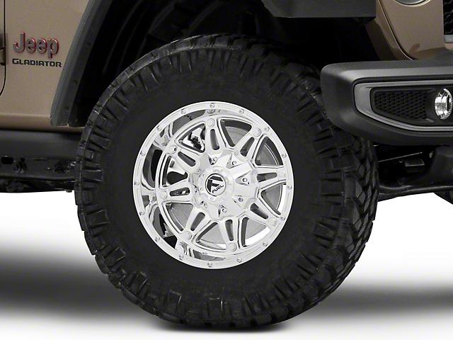 Fuel Wheels Hostage Chrome Wheel; 17x9 (20-22 Jeep Gladiator JT)