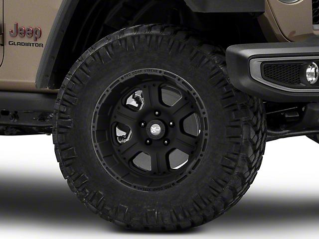 Pro Comp Wheels 89 Series Kore Matte Black Wheel; 18x9 (20-22 Jeep Gladiator JT)