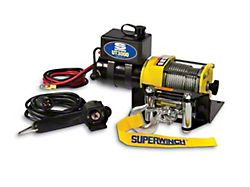 Superwinch 3,000 lb. UT3000 Winch with Steel Cable (Universal; Some Adaptation May Be Required)