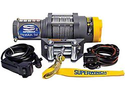Superwinch 3,500 lb. Terra 35 Winch with Steel Cable (Universal; Some Adaptation May Be Required)