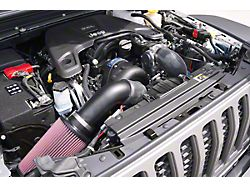 Procharger High Output Intercooled Supercharger Tuner Kit with P-1SC-1; Satin Finish (20-21 3.6L Jeep Gladiator JT)