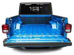 Rough Country Molle Panel Bed Mounting System; Cab Side (20-22 Jeep Gladiator JT)
