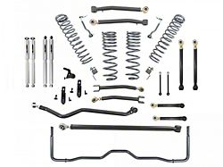Belltech 4-Inch Suspension Lift Kit with Trail Performance Shocks (20-22 Jeep Gladiator JT Launch Edition, Rubicon)
