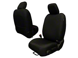 Bartact Baseline Performance Front Seat Covers; Black (20-22 Jeep Gladiator JT)
