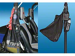 Sport Roll Bar Caddy; Black (Universal; Some Adaptation May Be Required)
