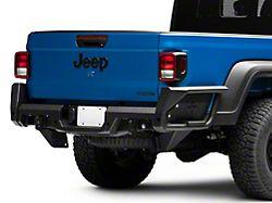 Fab Fours Rear Bumper; Matte Black (20-22 Jeep Gladiator JT)
