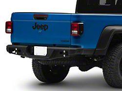 Fab Fours Standard Rear Bumper; Matte Black (20-22 Jeep Gladiator JT)