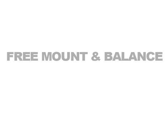 YES: Free Mount and Balance