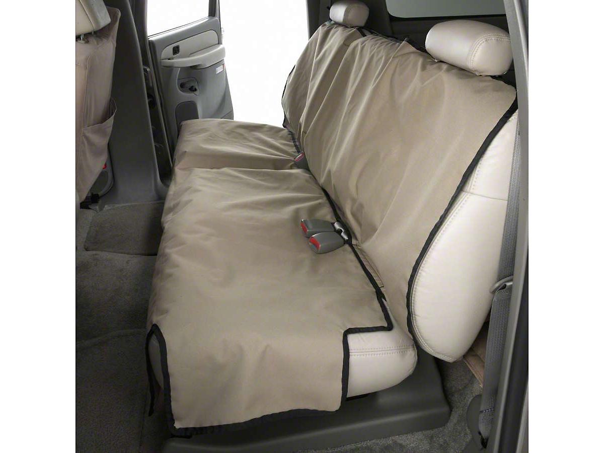 Covercraft Canine Covers Econo Rear Seat Protector - Tan (02-18 RAM 1500 Quad Cab, Crew Cab)