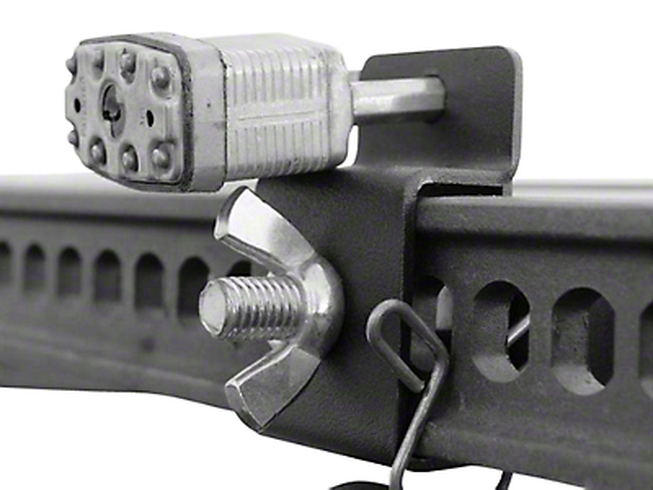Leitner Designs Bed Rack Hi-Lift Jack Brackets (02-19 RAM 1500)