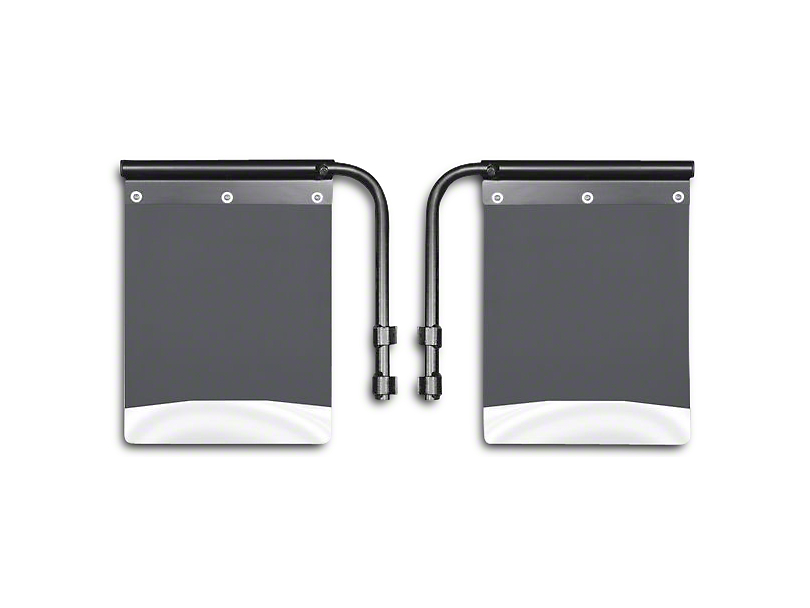 Husky Removable Pivoting Mud Flaps - Stainless Steel Weight (02-19 RAM 1500)