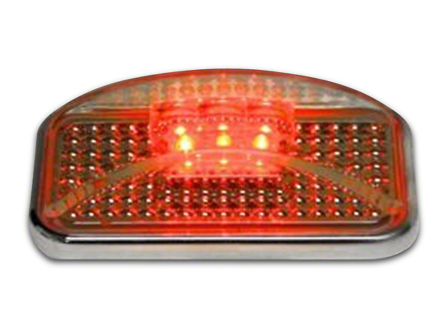 Putco Red LED w/ Ion Chrome Lens Side Marker
