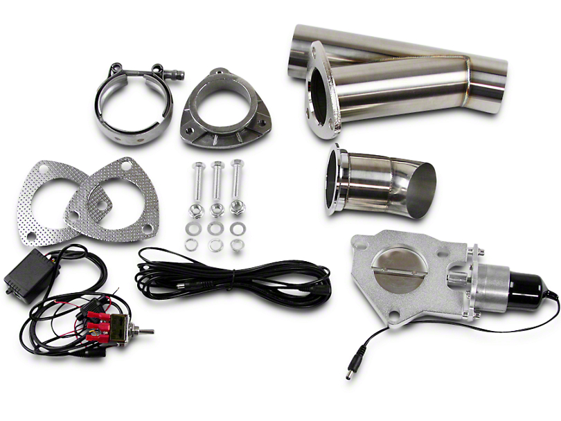 GMS Electronic Exhaust Cutout System - 2.5 in. (02-19 RAM 1500)