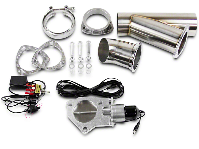 GMS Electronic Exhaust Cutout System - 3 in. (Universal Fitment)