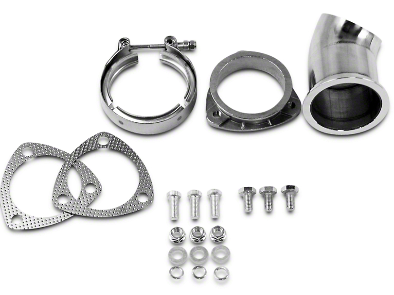 GMS Exhaust Cutout Adjustable Turn Down - 3 in. (02-19 RAM 1500)