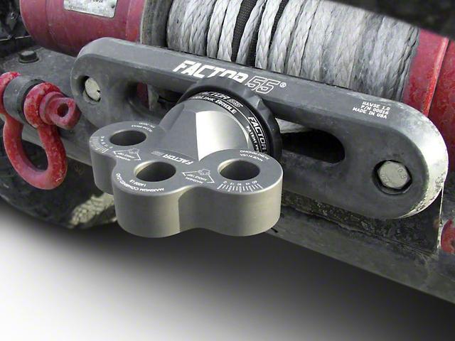 Factor 55 ProLink Bridle Winch Hook - Gray (02-19 RAM 1500)