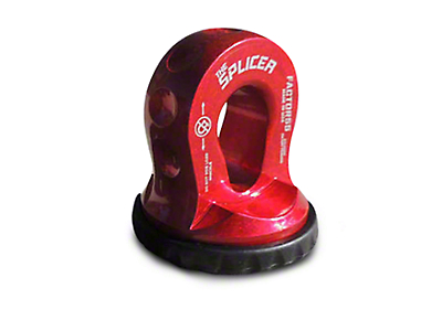 Factor 55 Splicer Shackle Mount - Red (02-19 RAM 1500)