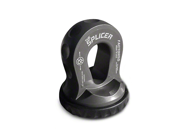 Factor 55 Splicer Shackle Mount - Gray