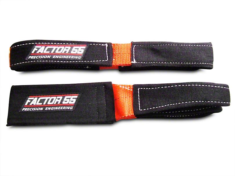 Factor 55 Shorty Strap II - 3 ft. x 2 in. (02-19 RAM 1500)